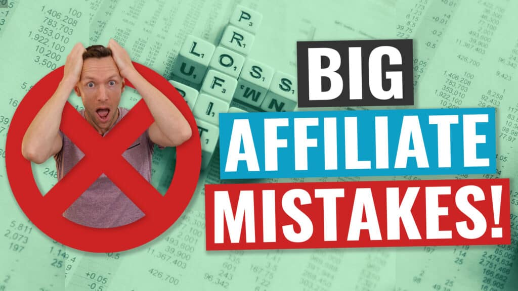 5 Affiliate Marketing MISTAKES Beginners Make (that lose $$$!)
