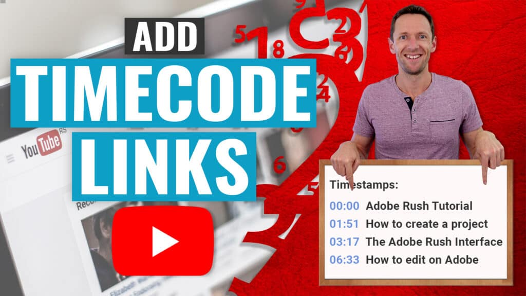 How to Add YouTube Timestamp Links