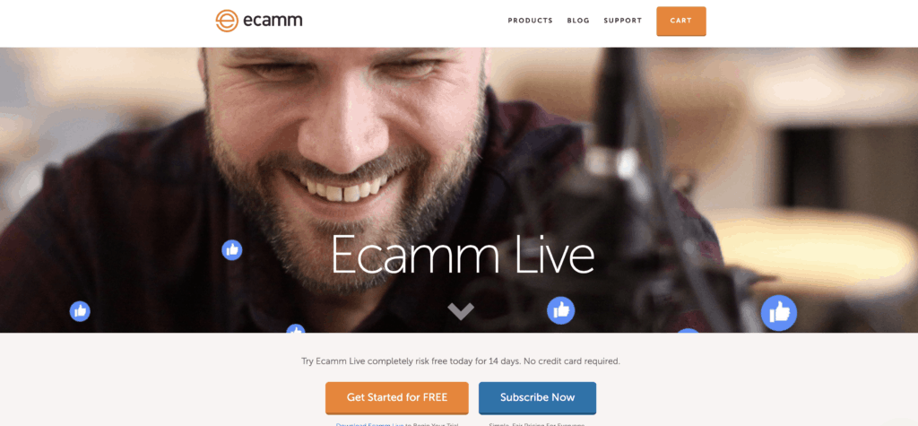 Ecamm's Website