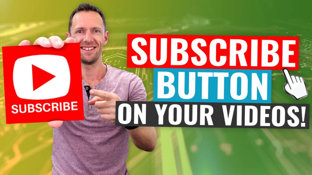 How to Add a Custom YouTube Watermark Subscribe Button to Videos