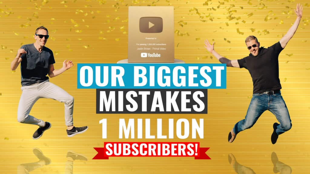 1 MILLION Subscribers! Here's what we did wrong