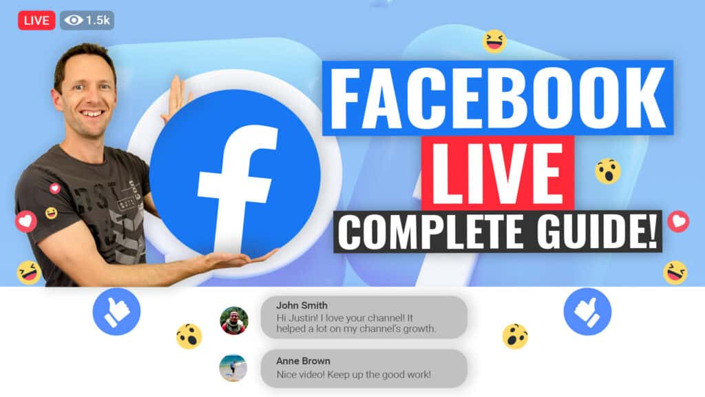 Facebook Live Streaming - COMPLETE Beginners Guide!
