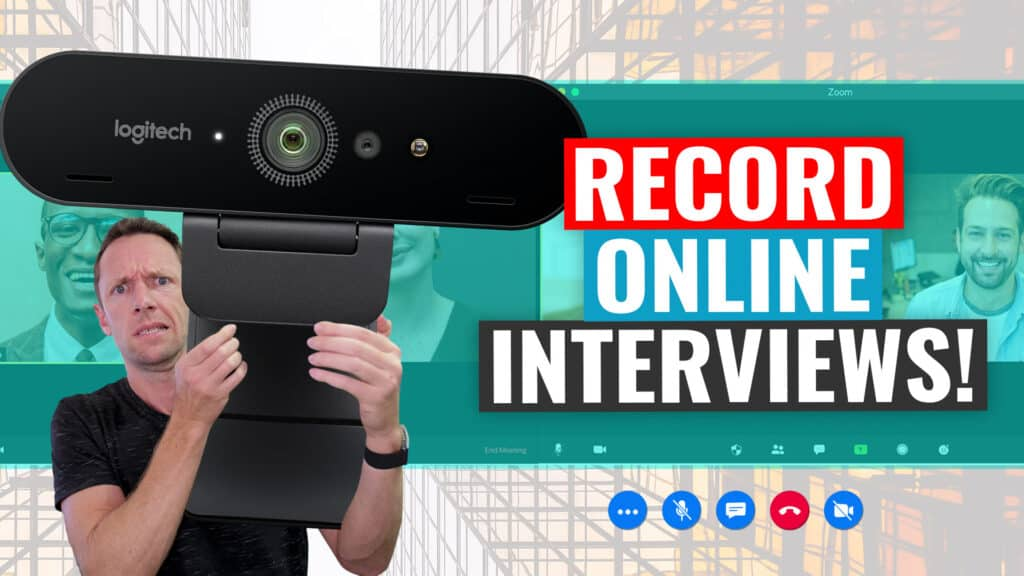 How to Shoot an Interview ONLINE (Remote Interview Tutorial!)
