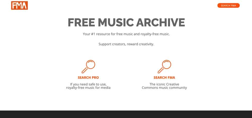 Free Music Archive is a great option for free royalty-free background music
