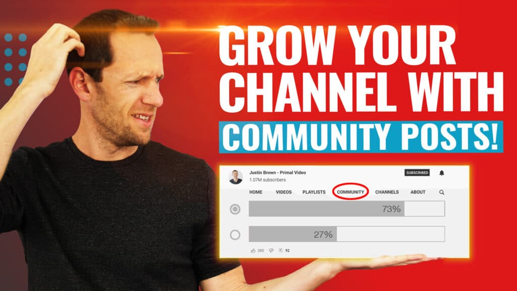 YouTube Community Tab & Posts - The COMPLETE Guide!
